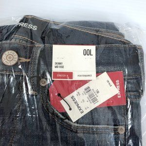 Express Jeans - ✅SOLD✅Express Mid Rise Dark Wash Skinny Stretch Je